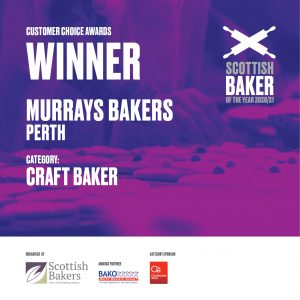 Murrays Bakers-Customer Choice Winner Craft Bakeer 2020-21