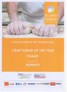 Craft Baker of the Year 2015-16