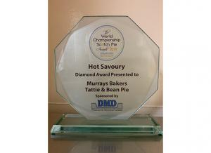 World Championship Scotch Pie Awards 2019 - Murrays Bakers - Diamond Award - HotSavoury