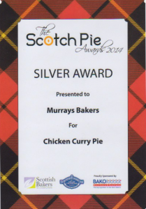 Scotch Pie Awards - Chicken Curry Pie 2014