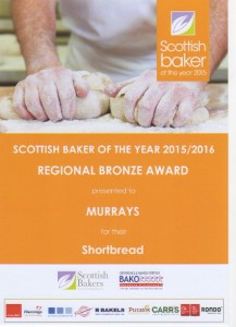 Scottish Baker of the Year 2015-16 - Shortbread