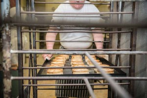 Murrays Bakers - Now we take the pies out of the rack...