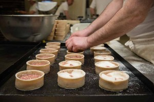 Murrays Bakers - Time to put filling in the pies