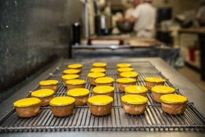 Murrays Bakery - Leaving the Pineapple cakes to set