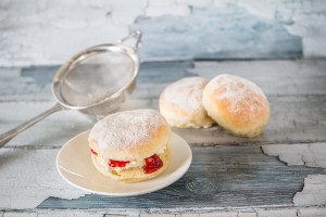 Murrays Bakers - Jam and Cream filled Plain Scone